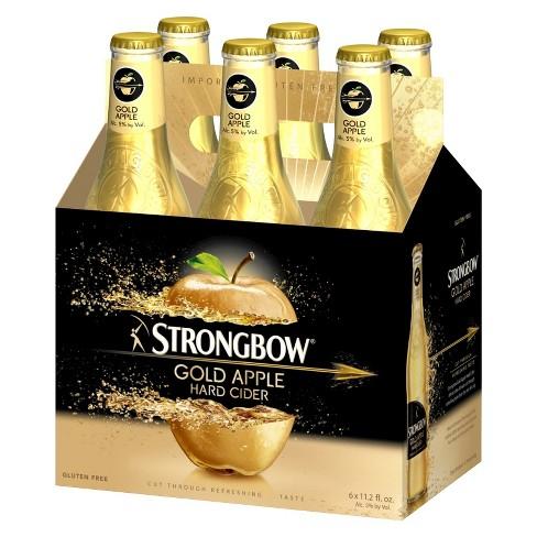 Strongbow® Gold Apple Hard Cider - 6pk / 11.2oz Bottles - image 1 of 1