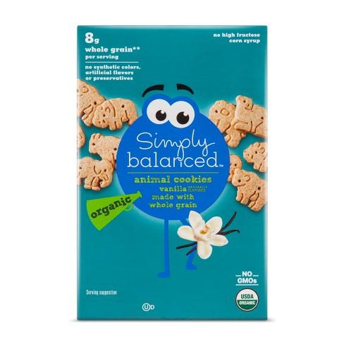 Organic Vanilla Animal Cookies - 7oz - Simply Balanced™ - image 1 of 1