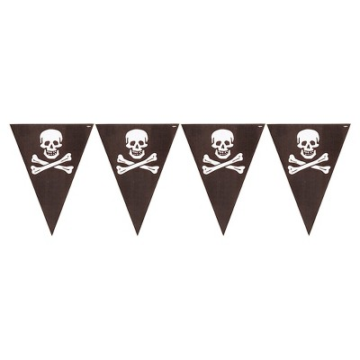 Pirate's Map Flag Banner