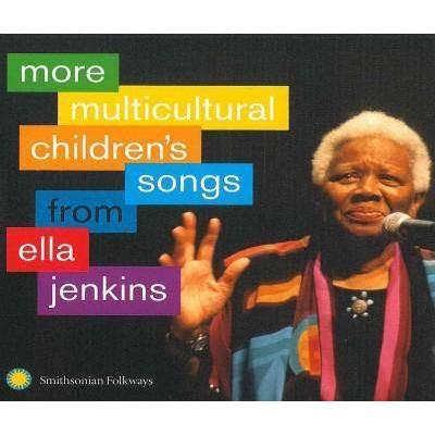 Ella Jenkins - More Multicultural Children's Songs from Ella Jenkins (CD)