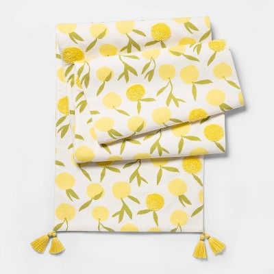 "14""x108"" Lemons Table Runner - Opalhouse™"