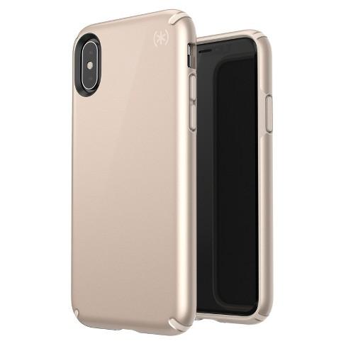 finest selection 346d3 72cee Speck Apple iPhone X/XS Presidio Case - Metallic Nude Gold