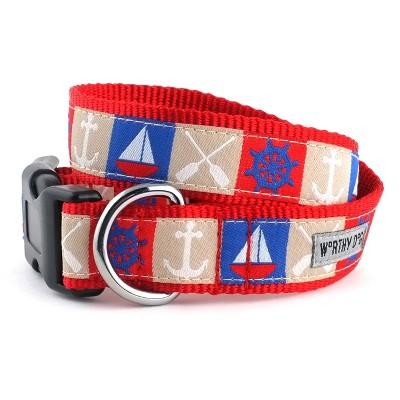 The Worthy Dog Ahoy Dog Collar