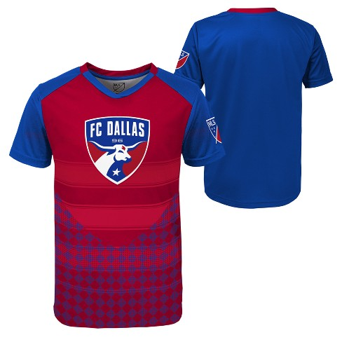 Boys' Short Sleeve Game Winner Sublimated Performance T-Shirt FC Dallas - image 1 of 3
