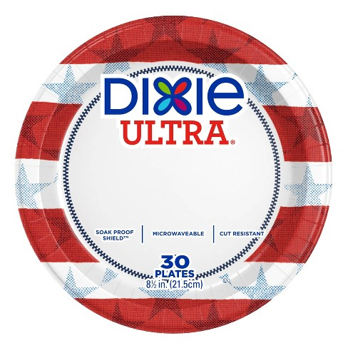 """Dixie Ultra Disposable Plates - 8.5"""" - 30ct - image 1 of 4"""