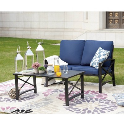 3pc Loveseat Patio Seating Set - Patio Festival