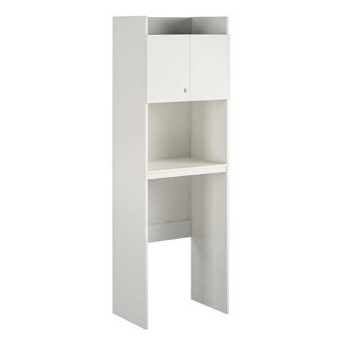 Sandberg Mini Refrigerator Storage, Mini Fridge Cabinet For Dorm Room