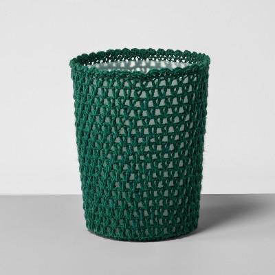 Solid Bathroom Wastebasket Bluff Green - Opalhouse™