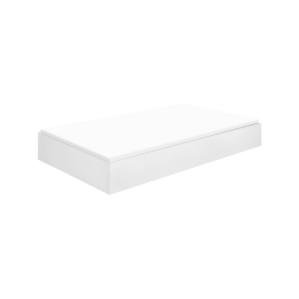 Universal Twin Storage Trundle Bed White - Davinci