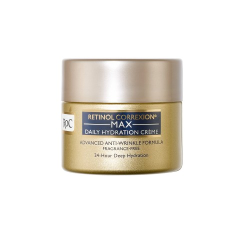 RoC Retinol Correxion Max Daily Hydration Crème Fragrance-Free - 1.7oz - image 1 of 4