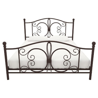 Bombay Metal Bed (Queen)- Bronze - Dorel Home Products