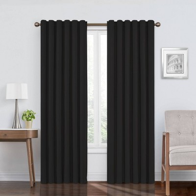 Bradley Velvet Absolute Zero Total Blackout Window Panel - Eclipse