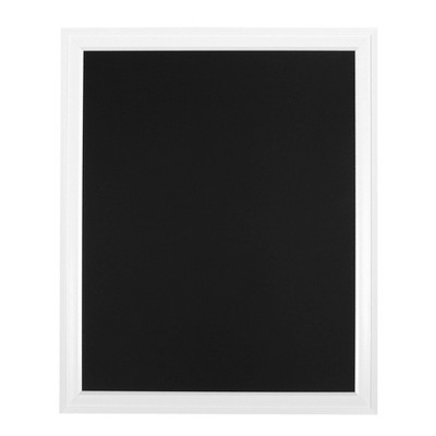 "28"" x 34"" Bosc Framed Magnetic Chalkboard White - DesignOvation"