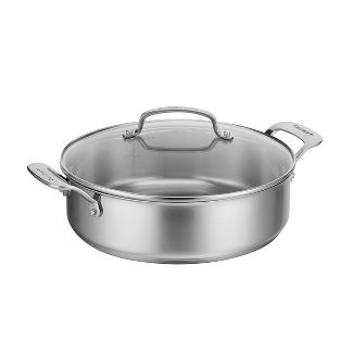 Cuisinart 4qt Stainless Steel Casserole with Cover