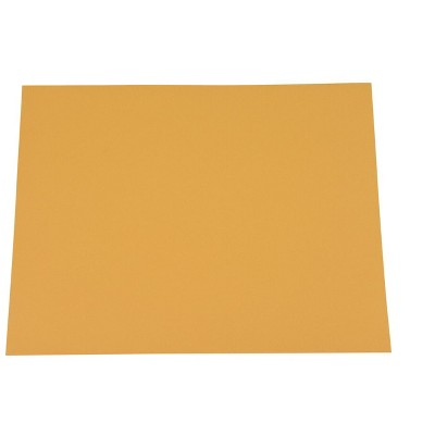 Sax Colored Art Paper, 9 x 12 Inches, Yellow Orange, 50 Sheets
