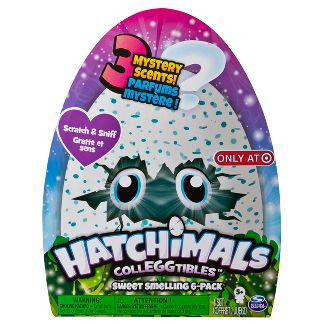 Hatchimals CollEGGtibles Sweet Smelling 6pk Only at Target