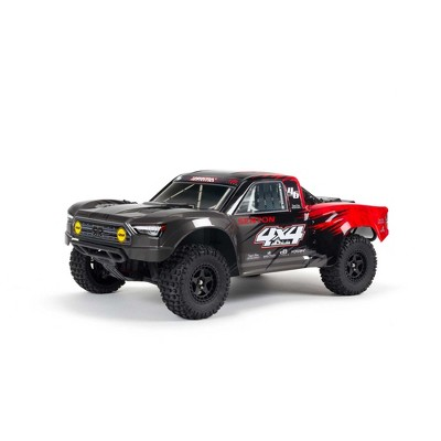 ARRMA RC Truck 1/10 SENTON 4X4 V3 MEGA 550 Brushed Short Course Truck RTR (Includes Transmitter, Receiver, Battery and Charger), Red, ARA4203V3T1