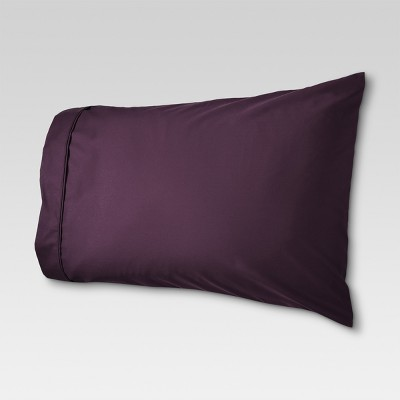 Performance Solid Pillowcase (King)Set Dark Purple 400 Thread Count - Threshold™