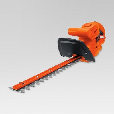 BLACK+DECKER 17  120V AC Hedge Trimmer Orange