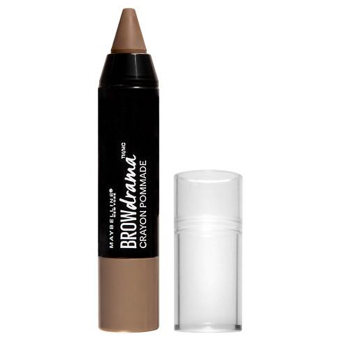d1c587ec0bc Maybelline Eyestudio Brow Drama Pomade Crayon 250 Blonde 0.04oz : Target