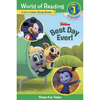 Disney Jr.'s Best Day Ever! - (World of Reading) (Mixed Media Product)