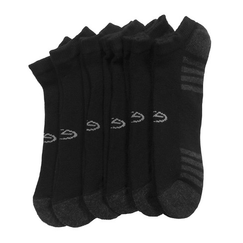 b563f336cfe2b Men's Banded No Show Socks 6pk - C9 Champion® Black 6-12 : Target