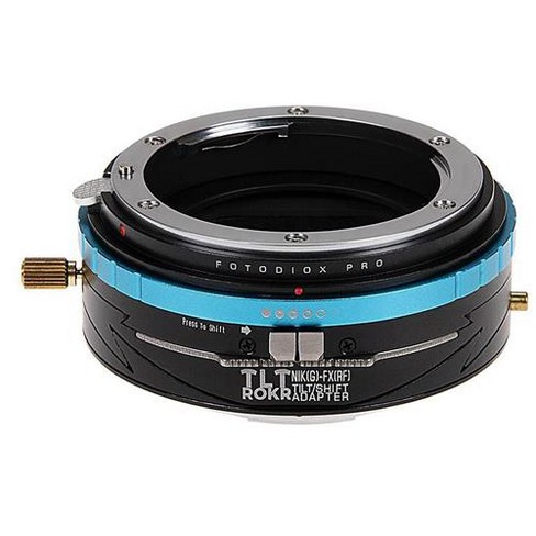 Fotodiox Pro TLT ROKR Tilt//Shift Lens Mount Adapter Compatible with Olympus OM 35mm Film Lenses to Sony E-Mount Cameras