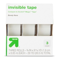 Invisible Tape 3ct - Up&Up™