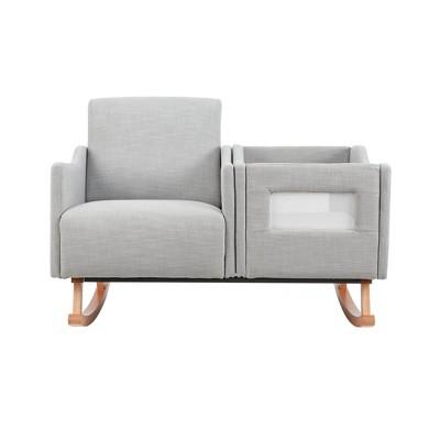 Karla Dubois Emerson Nursery Accent Chair - Gray