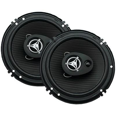 Power Acoustik Ef-653 EdSeries Coaxial Speakers (6.5 3 Way 400 Watts Max) POWEF653