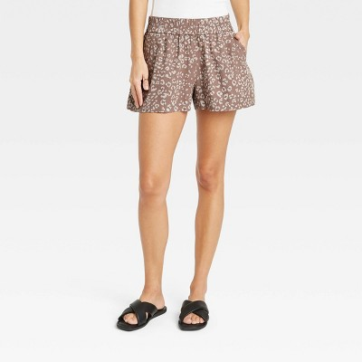 Women's High-Rise Pull-On Shorts - A New Day™