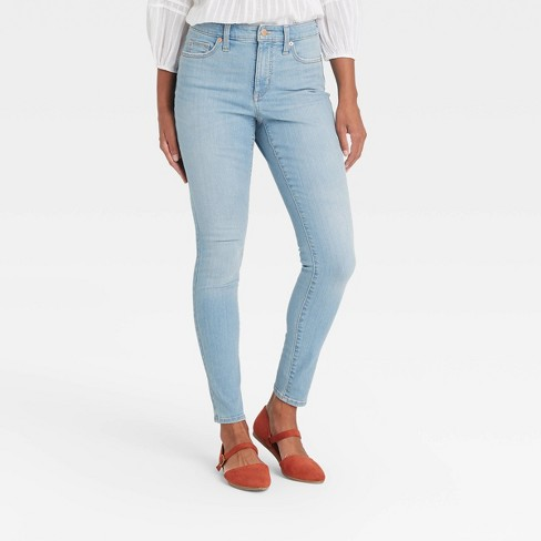 Women's High-Rise Skinny Jeans - Universal Thread™ - image 1 of 4