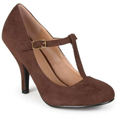 Women's Journee Collection Lisa T-strap Mary Jane Pumps - image 1 of 5