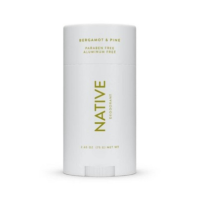 Native Bergamot & Pine Deodorant for Men - 2.65oz