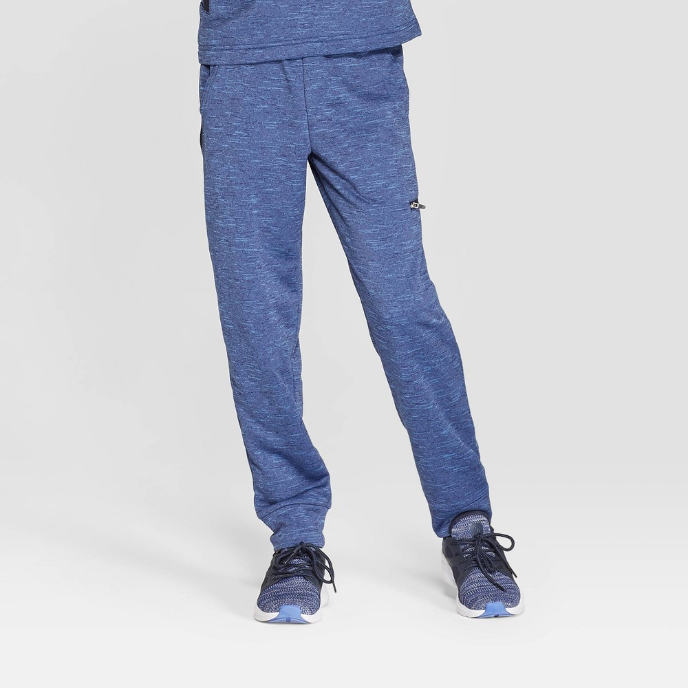 Boys' Spring Fleece Jogger Pants - C9 Champion Xavier Navy XS