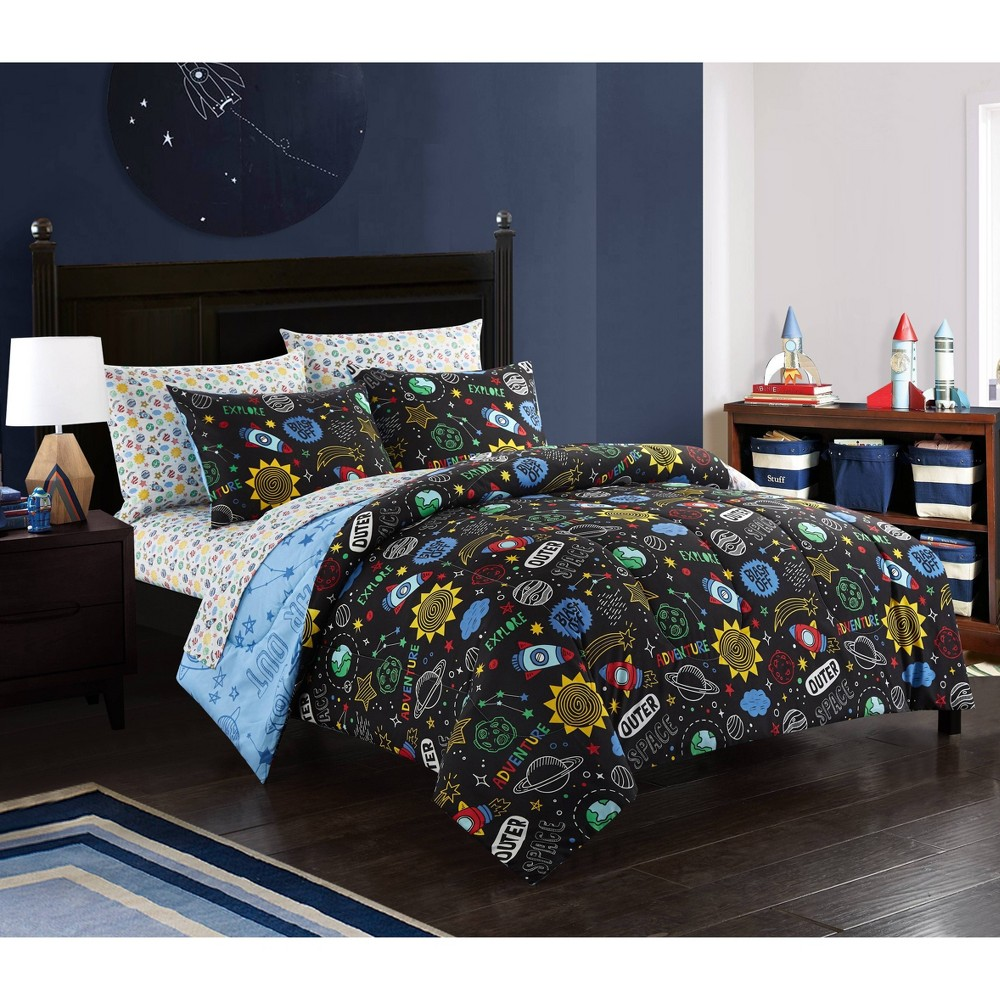Image of Full Out Of This World Bed in a Bag Blue - Heritage Club