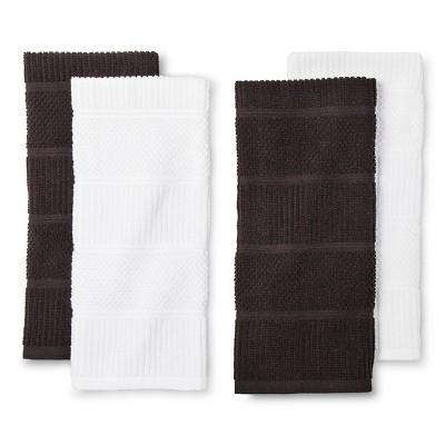 Black&nbspSolid&nbspKitchen Towel&nbsp - Room Essentials™