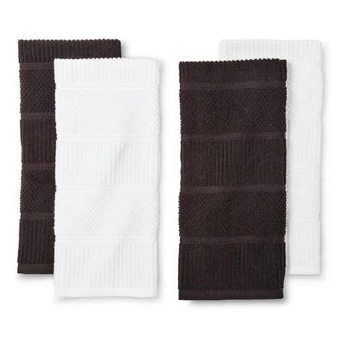 Black&nbspSolid&nbspKitchen Towel&nbsp - Room Essentials™ - image 1 of 1