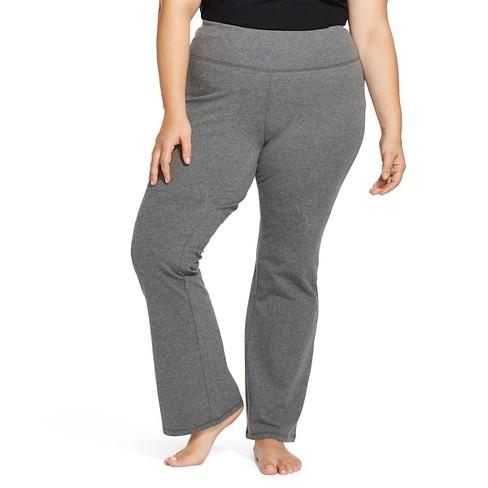 b281ea6294c Women s Plus Size Yoga Pants Heather Gray - Mossimo Supply Co.™   Target