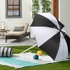 Bold Stripe Outdoor/Picnic Throw Blanket Teal - Hearth & Hand™ with Magnolia - image 2 of 3