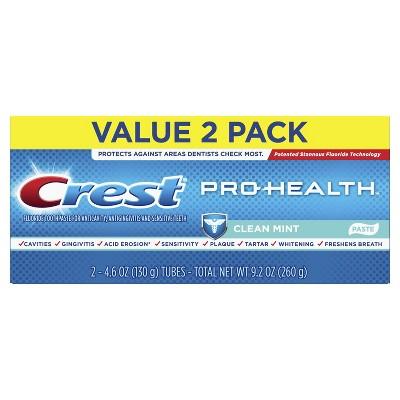 Toothpaste: Crest Pro-Health