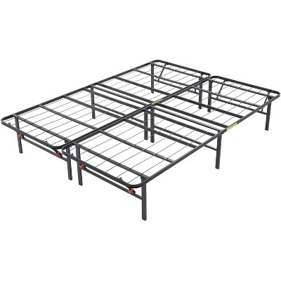 Classic Brands Hercules 14 Inch Modern Style Metal Platform Mattress Foundation Bed Frame with 14-Inch Legs and No Box Spring Required, Black, King