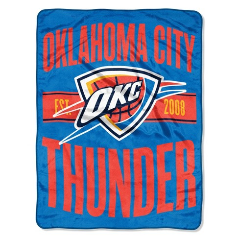 NBA Oklahoma City Thunder Micro Fleece Blanket - image 1 of 2