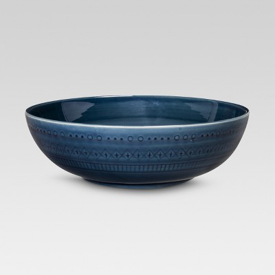 Kingsland 104oz Serving Bowl Blue - Threshold™