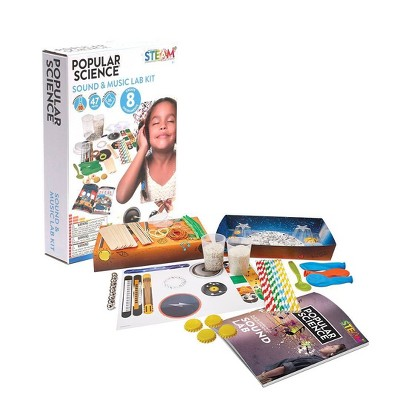 Popular Science Sound and Music Lab Kit