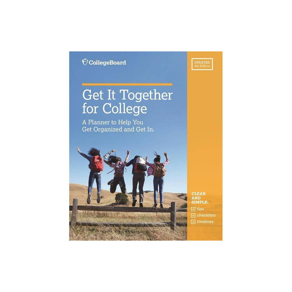 Get It Together For College 4th Edition Paperback