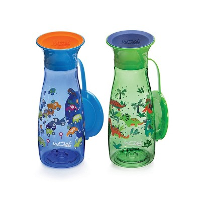 WOW Cup Mini - Blue/Green 2pk/10oz
