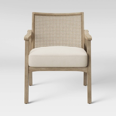 Chelmsford Cane Lounge Chair Natural - Threshold™