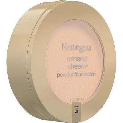 Neutrogena Mineral Sheers Compact Powder - 20 Natural Ivory, Natural Ivory 20