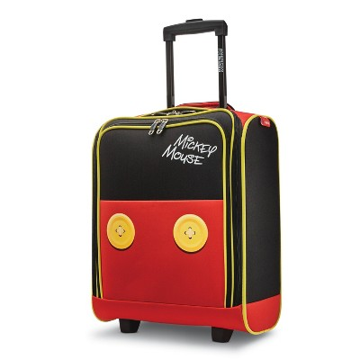 American Tourister 16.25'' Mickey Mouse Pants Underseater Softside Spinner Suitcase